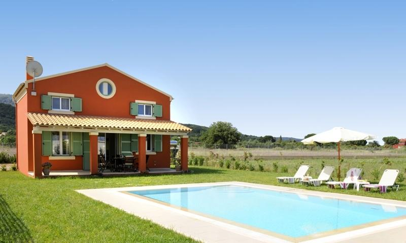 Villa Piteri - 2 bedrooms with private pool & Wi-Fi !!!, vacation rental in Corfu