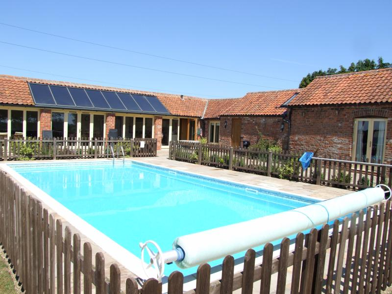 Private heated pool open from April to mid Oct