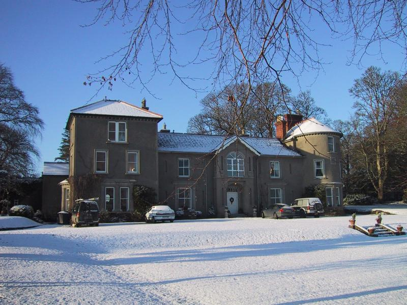 Bansha Castle at Christmas