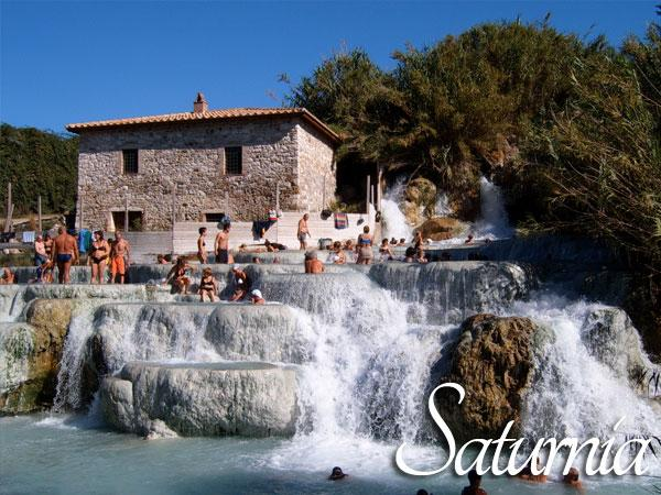 Nearby Saturnia Spa town