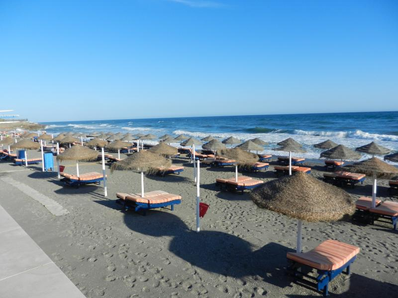 One of the many beaches in Torrox Costa.