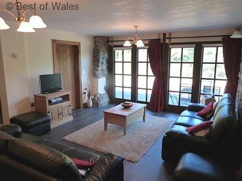The perfect setting to relax in the middle of the Mid Wales countryside