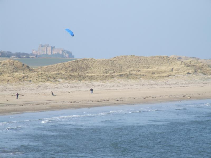 Beach between Seahouse and Bamburgh