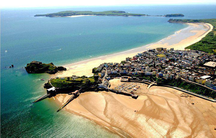 Tenby from the air