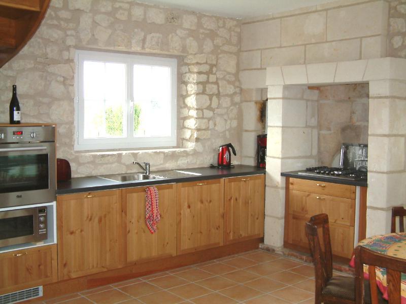 The oak kitchen