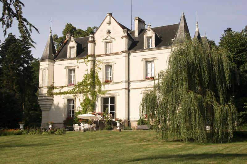 Charming Chateau to Relax in Style and Space, location de vacances à Saint-Jean-Saint-Germain