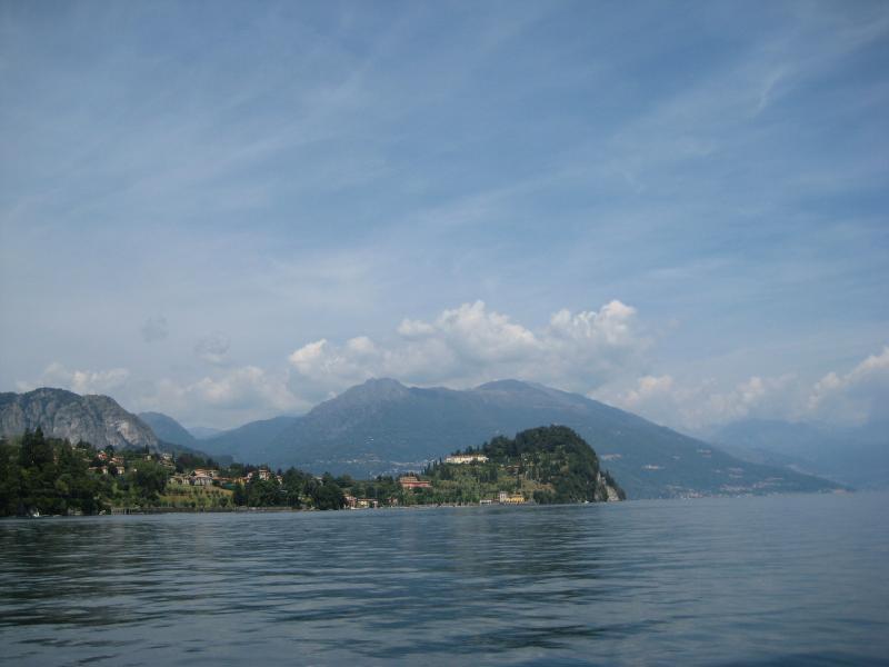 Bellagio Promontory onto the lake