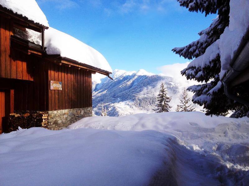 Chalet Le Reposoir view