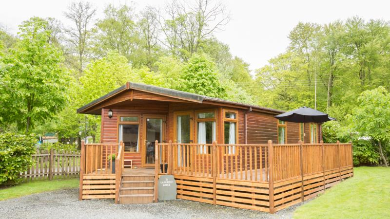 Langdale Lodge is situated in a quiet cul-de-sac at White Cross Bay.