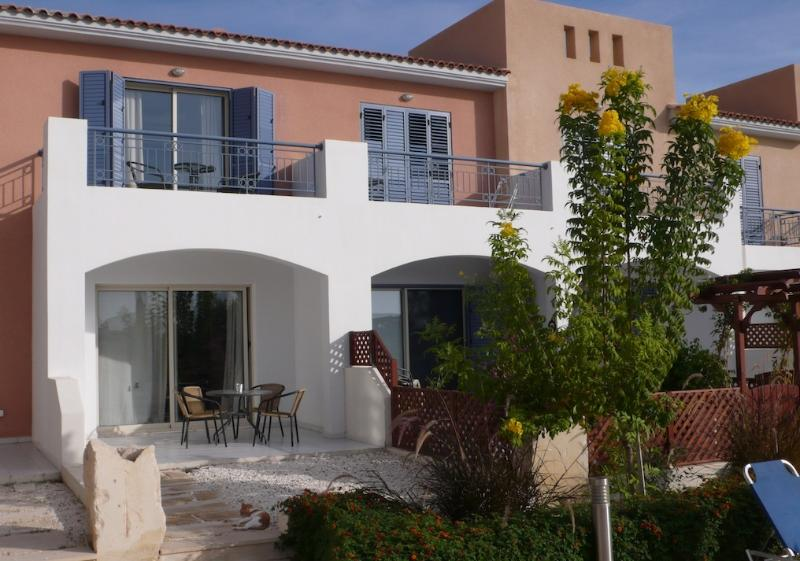 The Holiday Home with Private Terrace and Private Balcony.