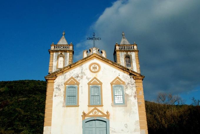 Church in Ribeirao da Ilha village