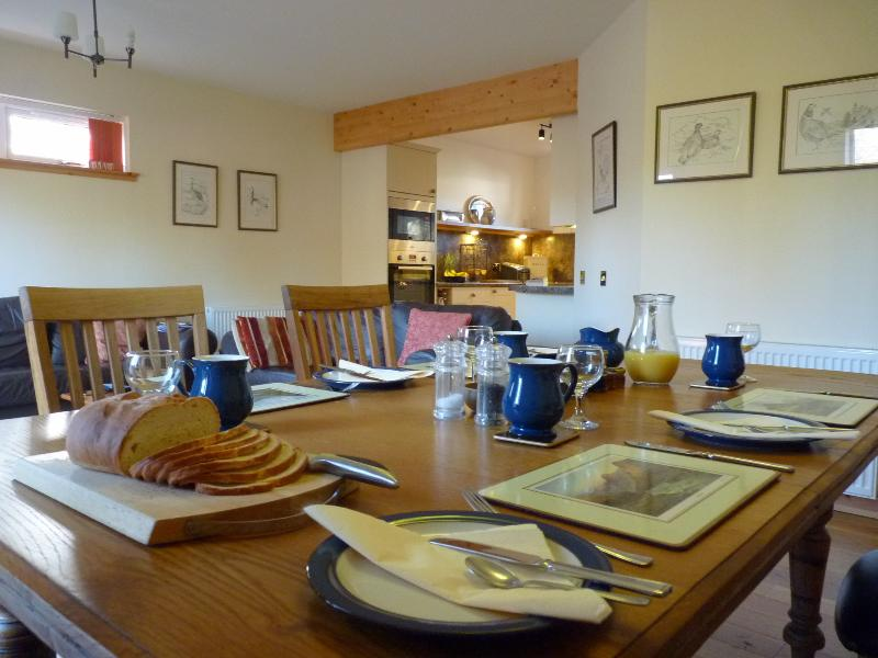 Breakfast Table at Tulach Ard