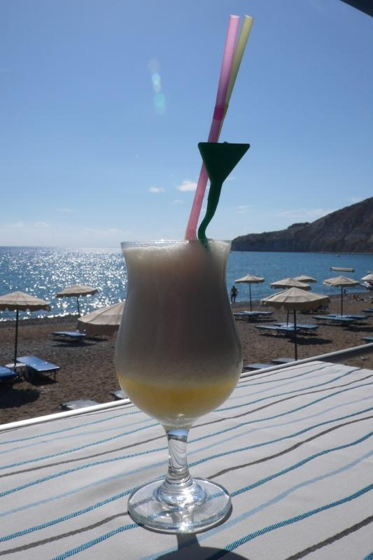 Cocktails on the Beach at nearby Pissouri Bay