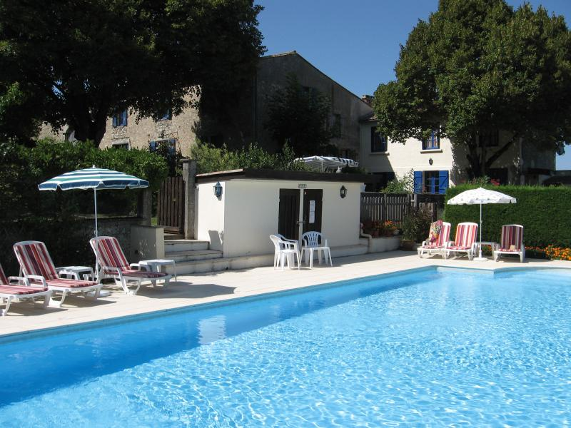 Relax by the 12m x 6m pool overlooking the valley