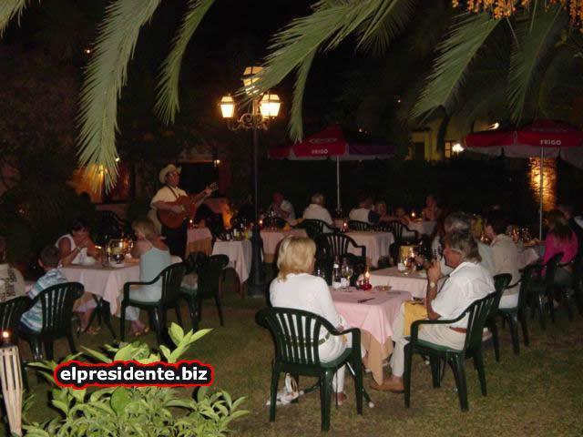 Our local spanish restaurant, Cash Juan, with alfresco dining