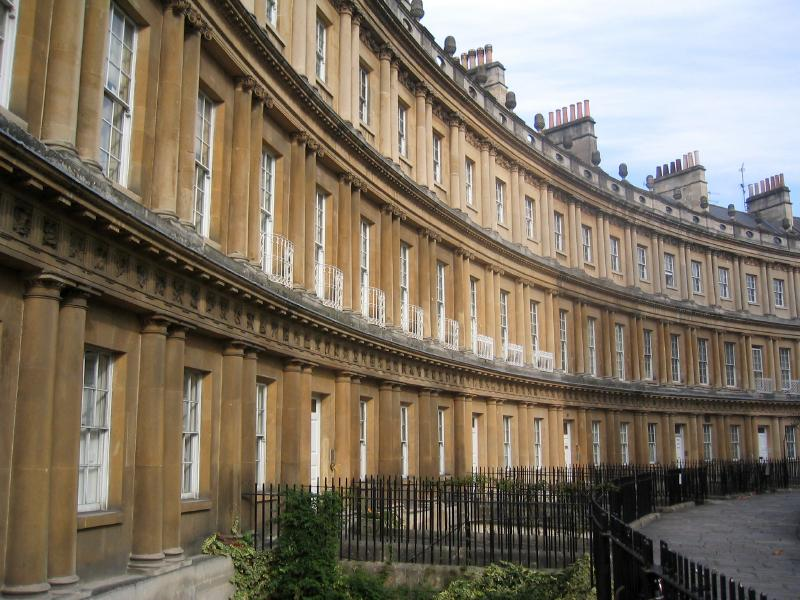 Royal Crescent en el baño
