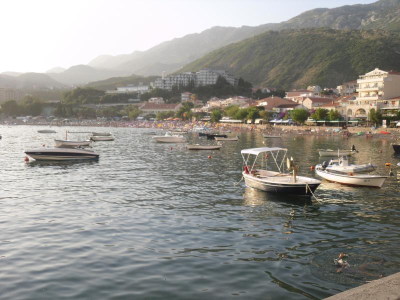 Coastal scene close to Budva.