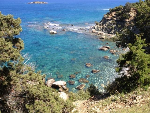 Akamas Peninsula view