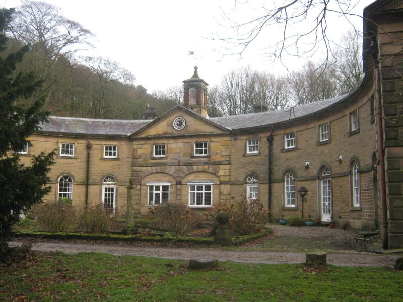 The building itself is grade 2 listed