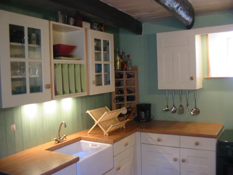 kitchen work station area