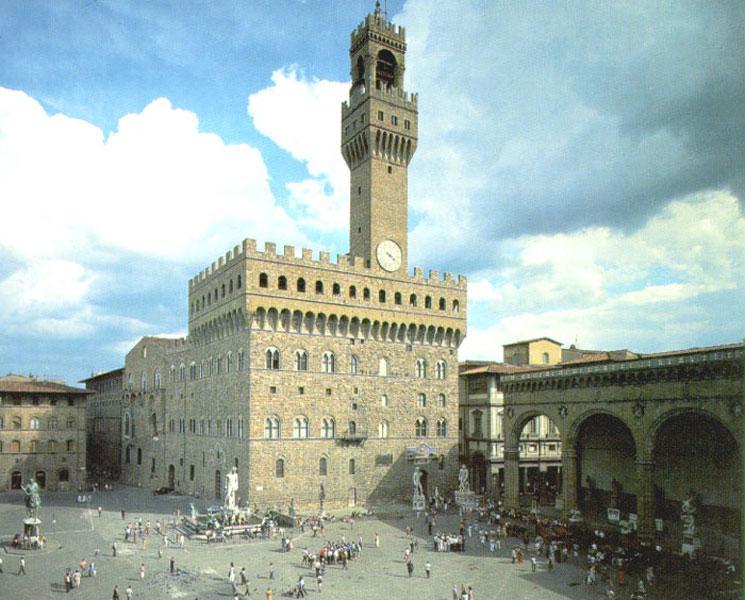 Piazza Signoria - Florencia - tener unas buenas vacaciones!