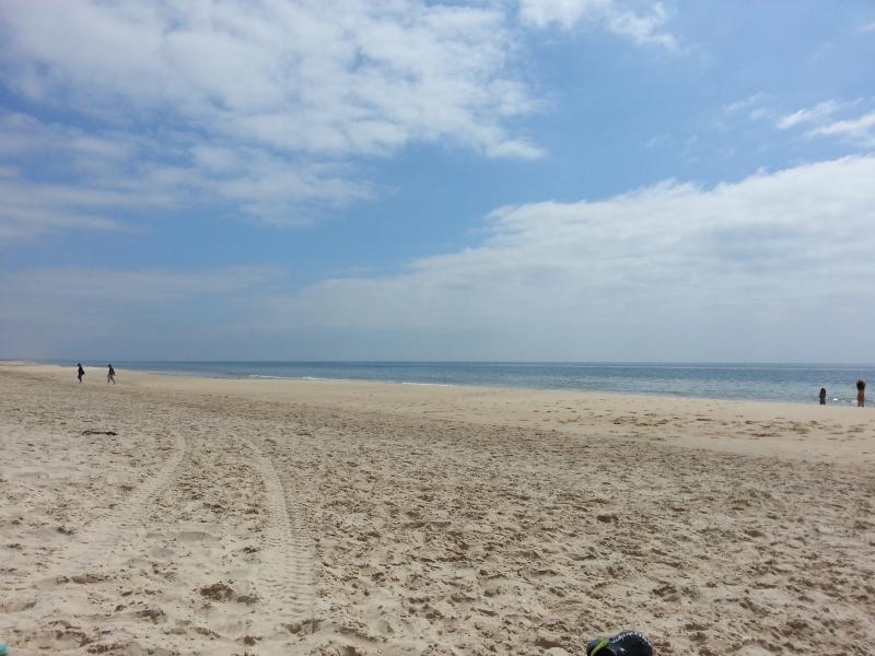 The beautiful Ilha de Cabanas beach