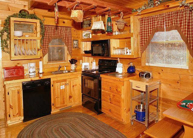 Romantic Hideaway #126- Kitchen