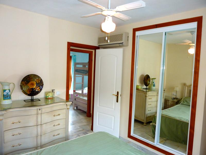 Master bedroom with en suite air conditioned.