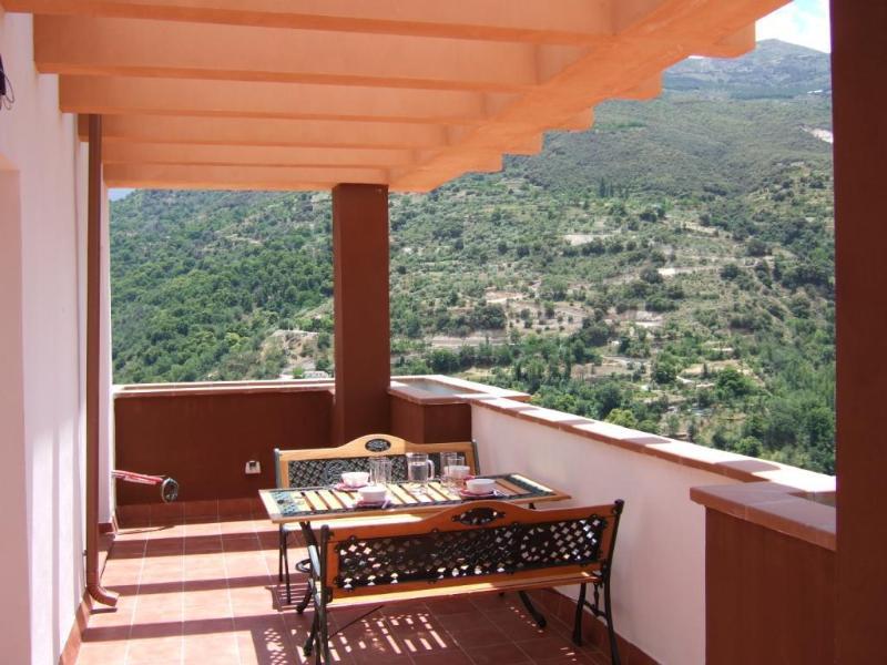 Stunning wraparound views on the terrace