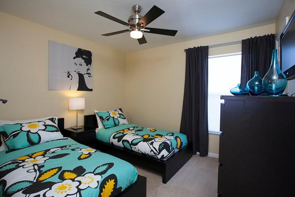 Bdrm 4 - The twin bedroom upstairs