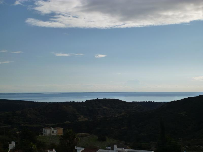 View of Mediterranean from Balcony
