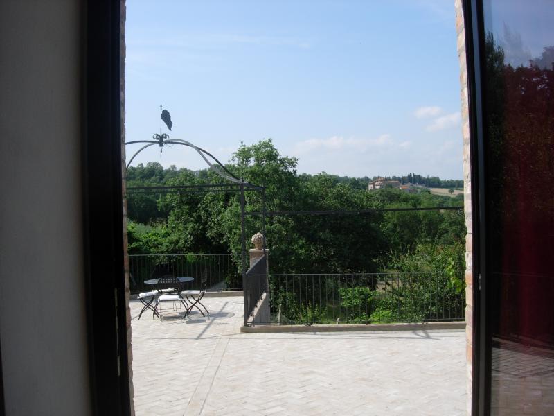 the panoramic terrace