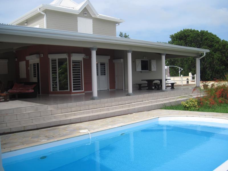 La villa vue extérieure