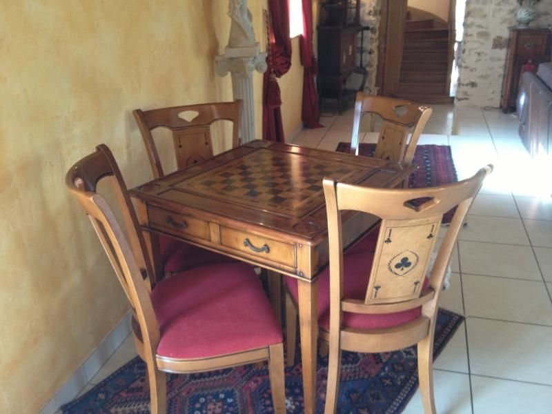 Chess table for four