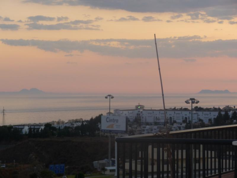 Distant views to Gibraltar and North Africa