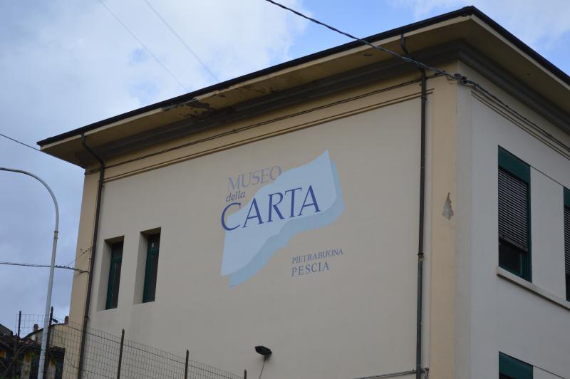 Museo della carta a Pietrabuona.