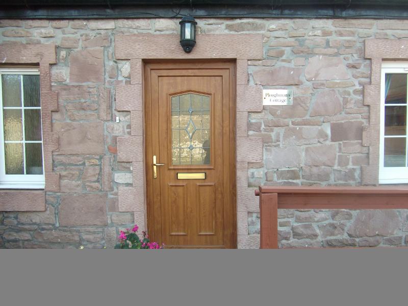 Ploughmans Cottage Front Door