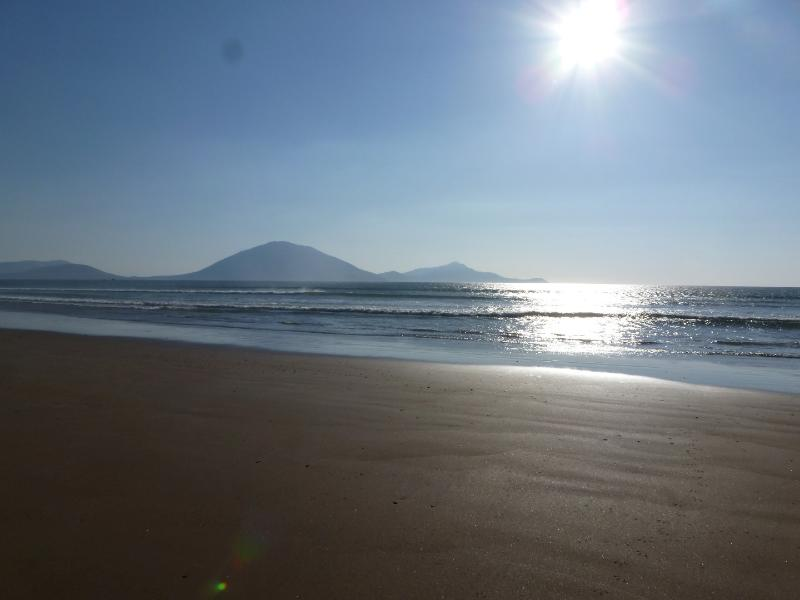 Local Beach (Roy Doohoma beach) with Achill Island in the background