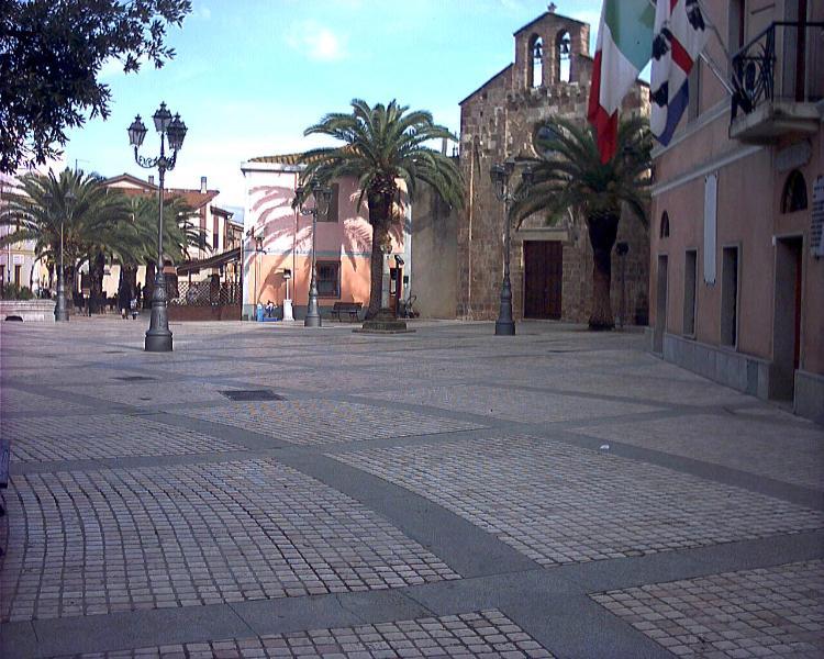 the square of Villamassargia