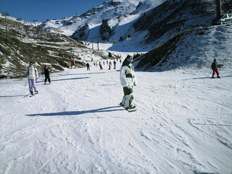 Skiing at Sierra Nevada just 2 hours drive