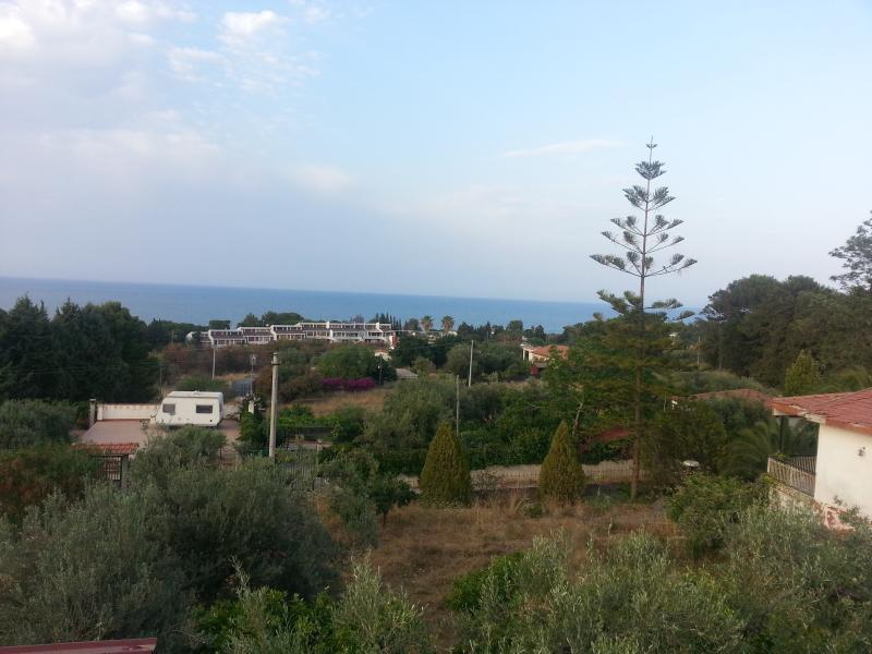 Panorama dell'appartamento in villa