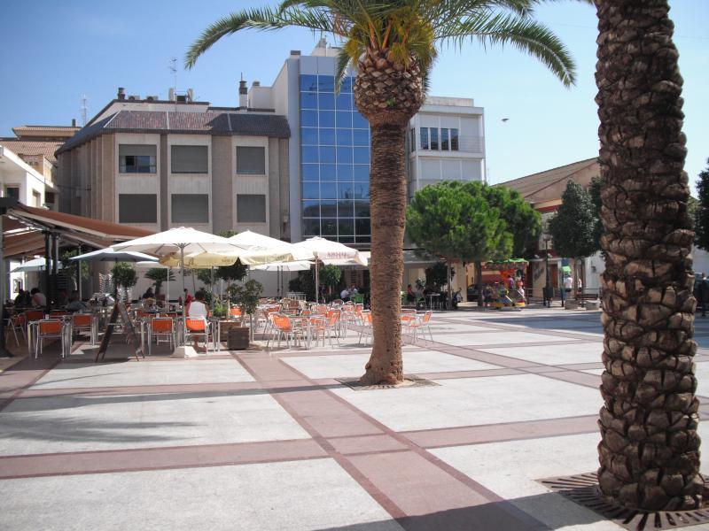Tapas bars in the square