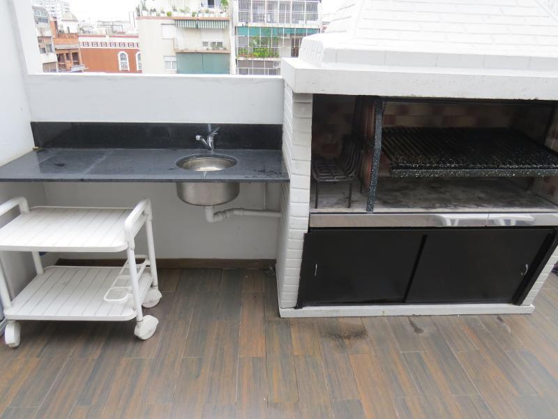 building barbecue