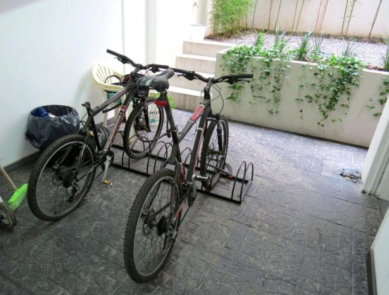 free bicycle parking place available