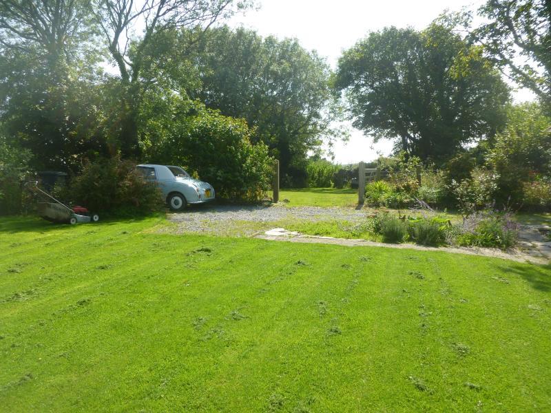 Garden looking towards paddock area