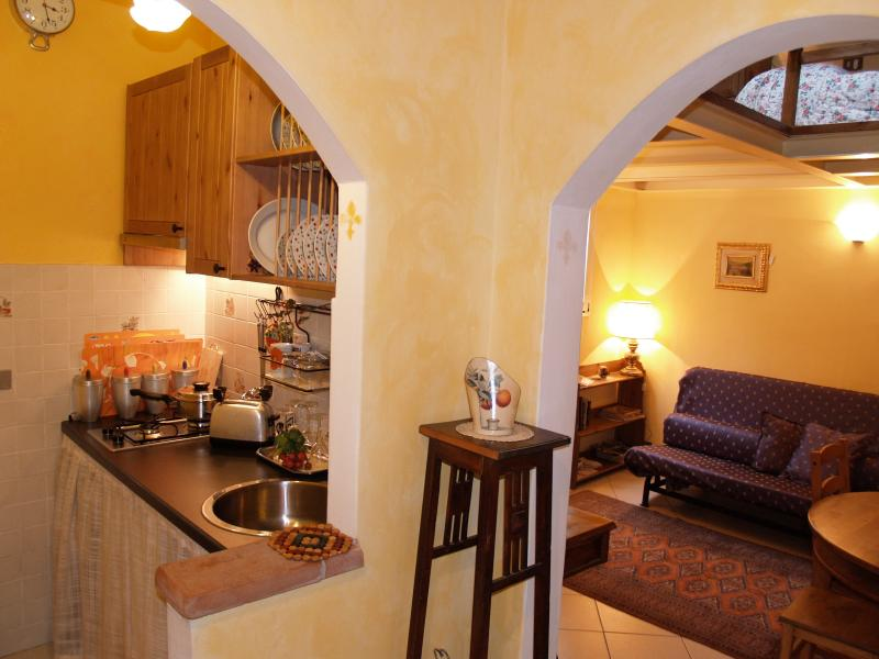 Florence apartment with romantic terrace., vacation rental in Florence