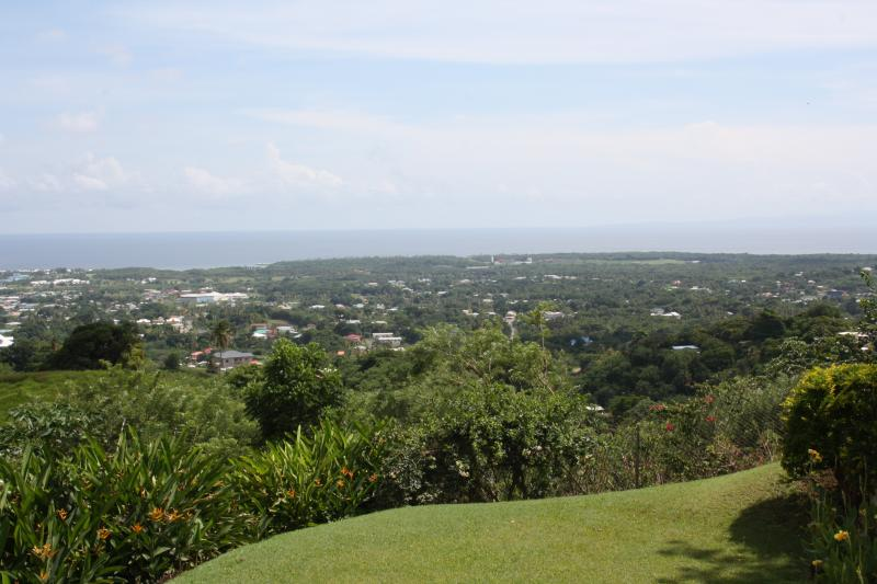 View over the lowlands of Tobago