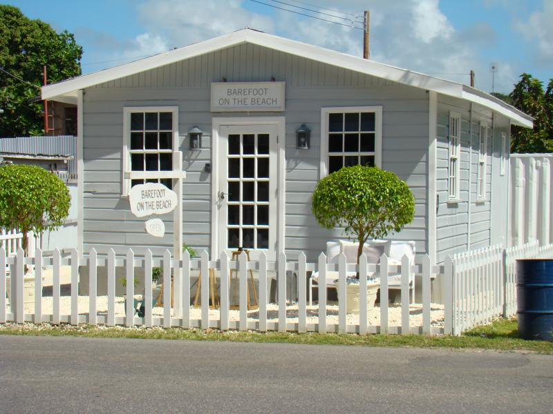 A typical Barbados 'Chattel' house