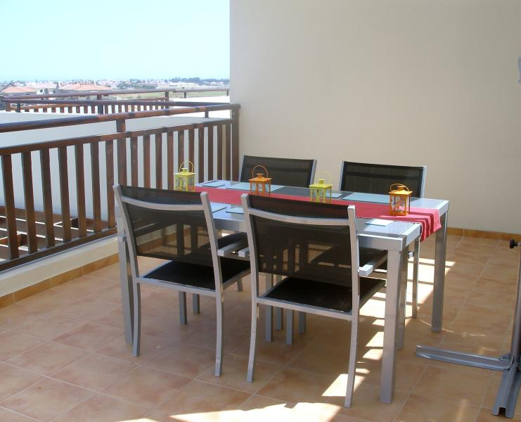 Large private terrace access from kitchen/lounge