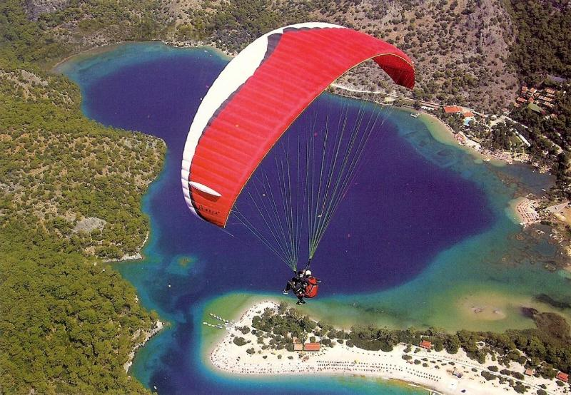 Paragliding at Oludeniz. A fantastic experience
